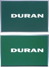 duran duran (diptych) by nayland blake