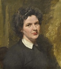 portrait of june hobart by archibald douglas colquhoun