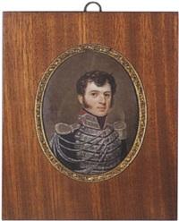 portrait de jeune militaire by jean pierre robelot