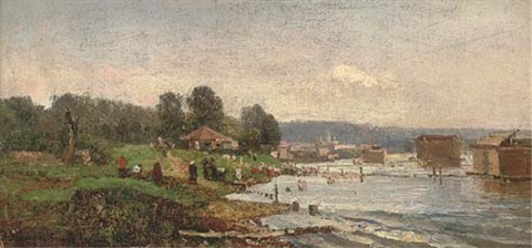 a summer day by the river by fedor ivanovich iasnovskii