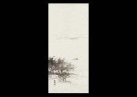 fishermans landscape by hashimoto gaho