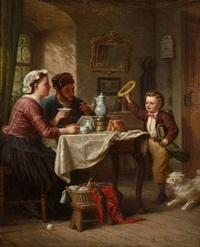 home from school by johann hermann kretzschmer
