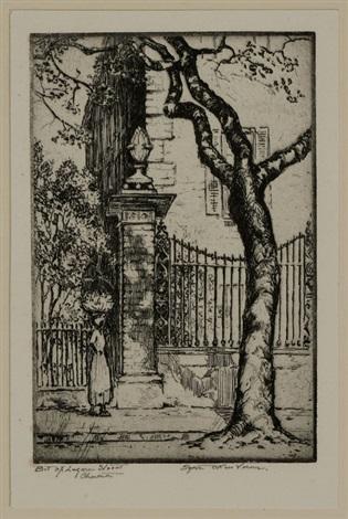 bit of legare street, charleston, s.c. by elizabeth o'neill verner