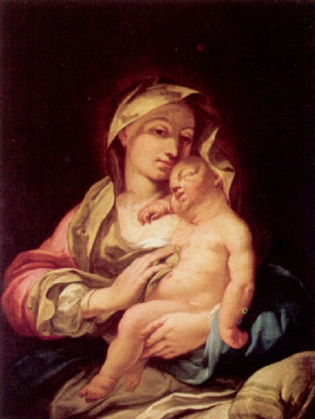 the madonna and child by giuseppe angeli
