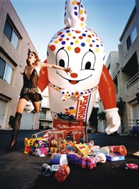 inflatables: wonderbread by david lachapelle