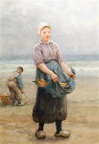 dutch fisher girl by edith hume
