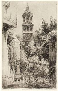 ansichten von dresden, meißen, radeberg, liebstadt, liegau, moritzburg (14 works) by paul geissler