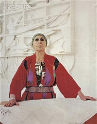 louise nevelson by hans namuth