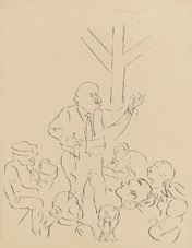 der zauberer by george grosz