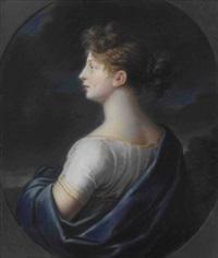 königin luise von preußen (1776-1810) by johann heinrich schröder