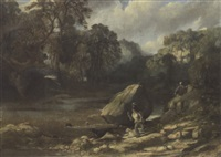 the otter hunt by alexander ferdinand wust