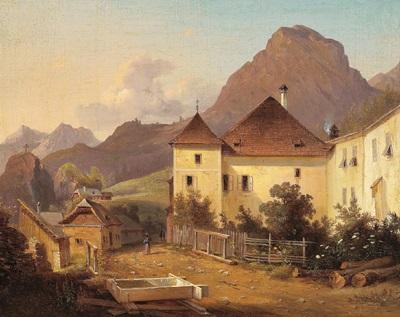 schloß niederhofen im ennstal by vinzenz kreuzer