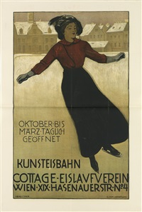 kunsteisbahn/cottage - eislaufverein by joseph breitner