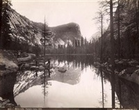 views in yosemite valley, california (set of 3) by isaiah west taber