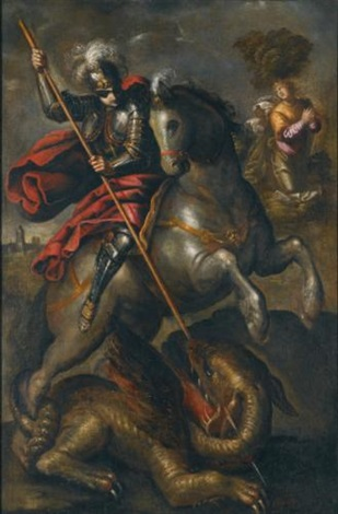 st george and the dragon by jacopo robusti tintoretto