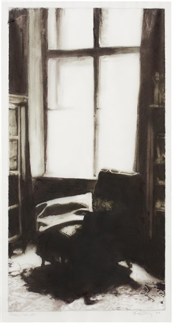 chair and window 2003 by robert longo