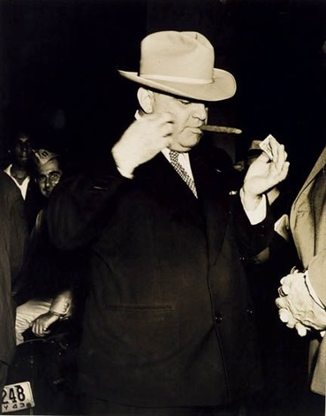 fiorello la guardia by weegee