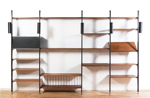 A Css (comprehensive Storage System) Wall Unit By George Nelson U0026 Associates
