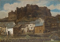 le château de la roche by xavier mellery