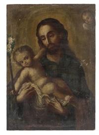 san josé y el niño by miguel cabrera