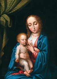 madonna mit kind by gerard david