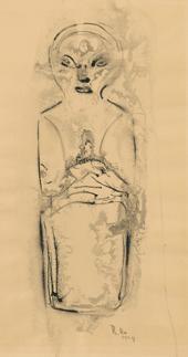 stehende figur by richard haizmann