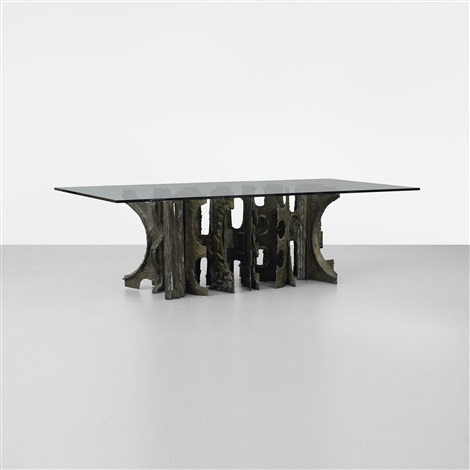 dining table by paul evans