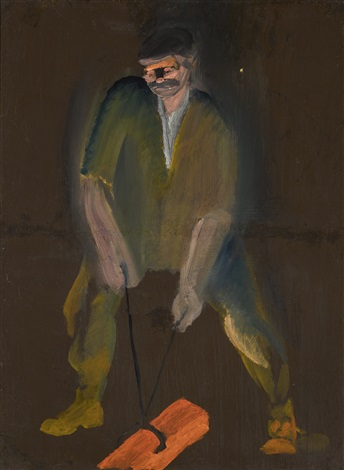 THE STEEL WORKER by Mieczyslaw Vasilyevich Dobrokovsky on artnet