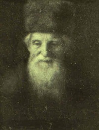 portrait of a rabbi by simeon buchbinder