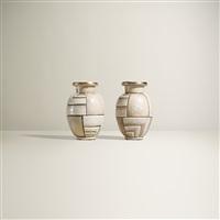 vases (pair) by rené buthaud