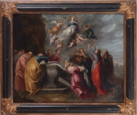 the assumption of the virgin by continental school
