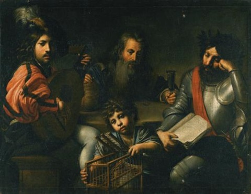 The Four Ages Of Man By Valentin De Boulogne