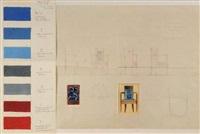 projet de sièges pour la salle à manger du paquebot normandie by raymond quibel