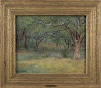 untitled (landscape) by julian alden weir