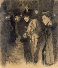 promenade nocturne by fernand louis gottlob