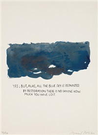 untitled (yes, but, alas...) by raymond pettibon