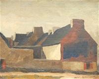 maisons au pignon rouge by maurice le scouézec