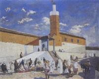 xuaen devant la mosquée by francis bolanos