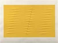 multiple estroflesso giallo by agostino bonalumi
