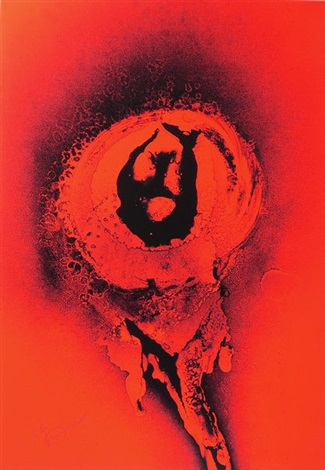 red my love by otto piene