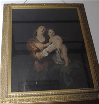 virgin and child (after sir antony van dyck) by jane fortescue seymour