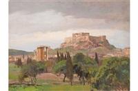 akropolis b. athen by georg macco