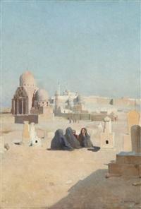 le vieux caire by paul alexandre alfred leroy