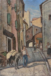 street scene by paul scortesco