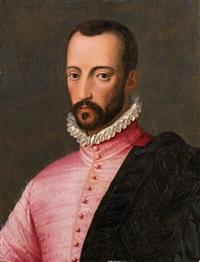 bildnis eines edelmannes, möglicherweise francesco i. de medici by alessandro di cristofano allori