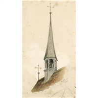 a study of a church, baden by john ruskin