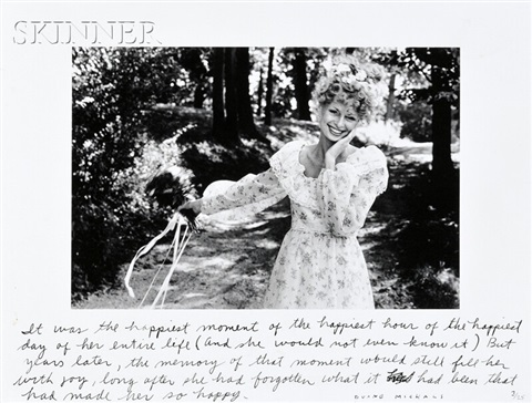it was the happiest moment by duane michals