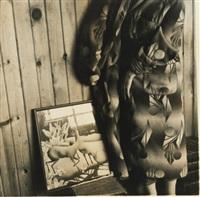 dale chihuly bathrobe by francesca woodman