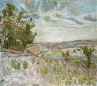 jerusalem landscape by leon engelsberg