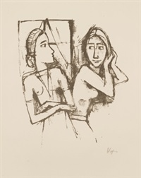 zenana (10 works) by karl hofer